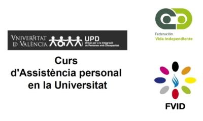 Logotipos del curso, FEVI y FVID