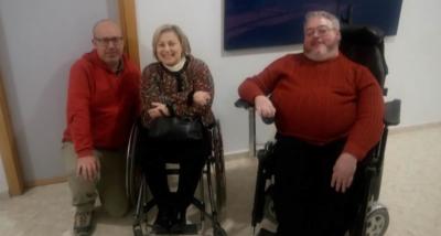 Jordi, Katja e Ismael en Radio Godella