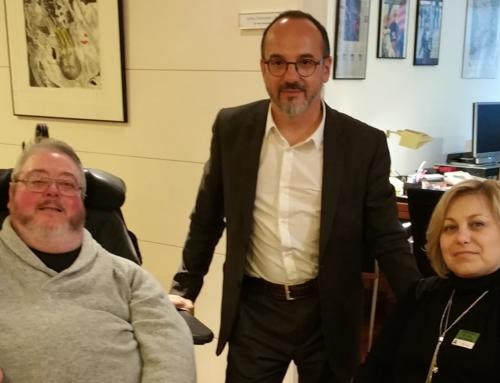FEVI en la Comisión de discapacidad del Congreso