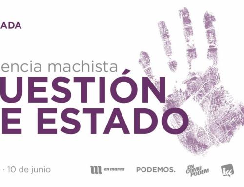 Jornada 'Violencia Machista, cuestión de estado'