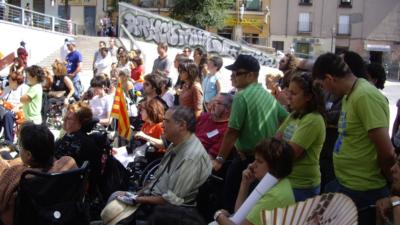 Activistas del Movimiento de Vida Independiente