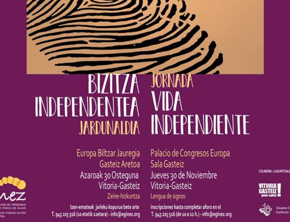 Jornada Vida Independiente en Vitoria-Gasteiz