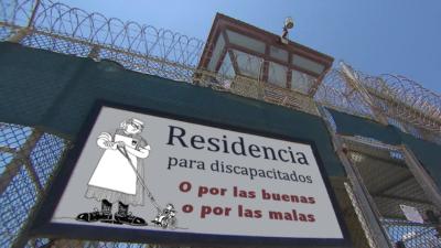 Imagen de supuesta residencia para discapacitados